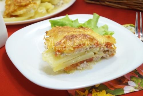 Запеканка из кабачков - рецепт