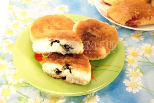 Жареные пирожки со щавелем  - рецепт