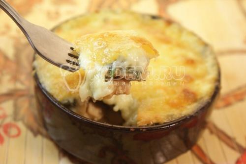 Жаркое под сыром - рецепт