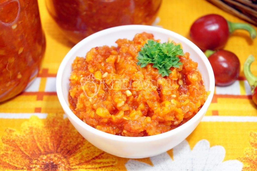 Воронежская закуска рецепт на зиму из капусты
