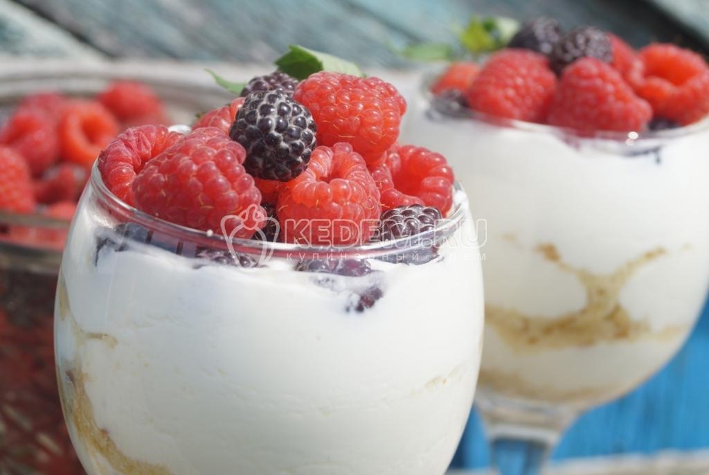 десерт из ягод рецепт