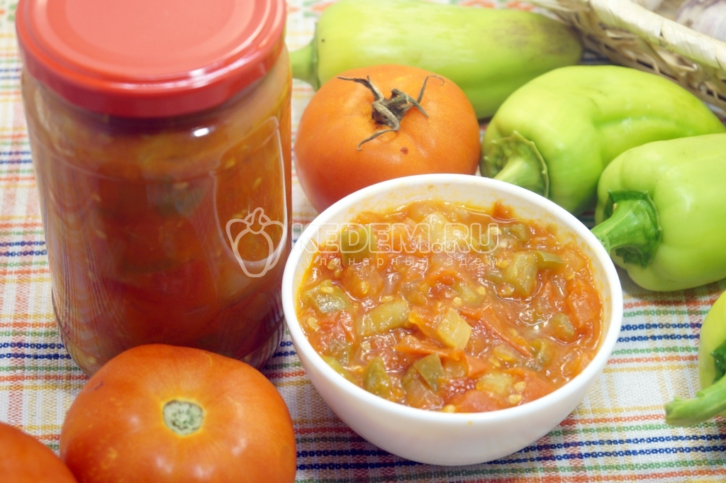 Рецепты кетчупа без яблок
