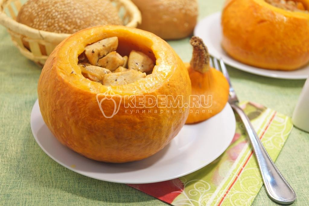 Блюда из тыквы пошагово