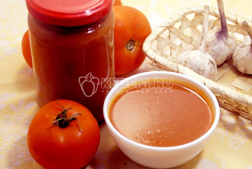 домашний соус все виды рецептов на зиму
