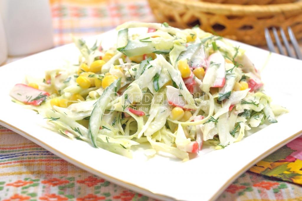 Салат с мивины рецепт с фото