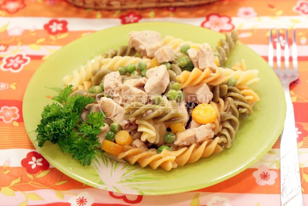 Блюда из курицы с макаронами в духовке рецепты