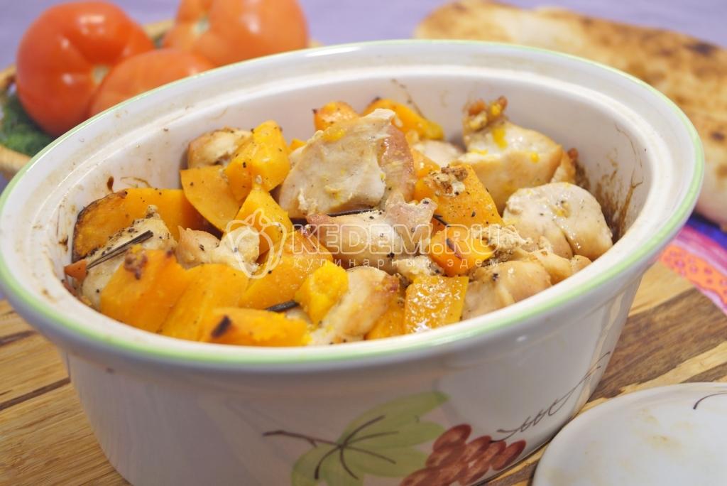 Блюда из курицы с тыквой рецепты