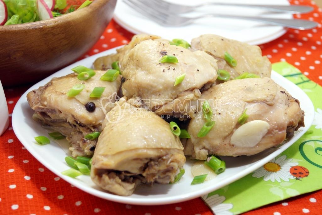 Курица в собственном соку пошаговый фото рецепт
