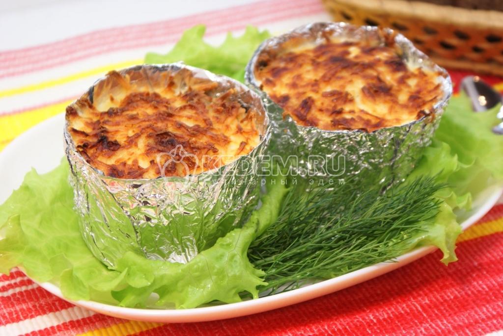 блюда фольге рецепты фото