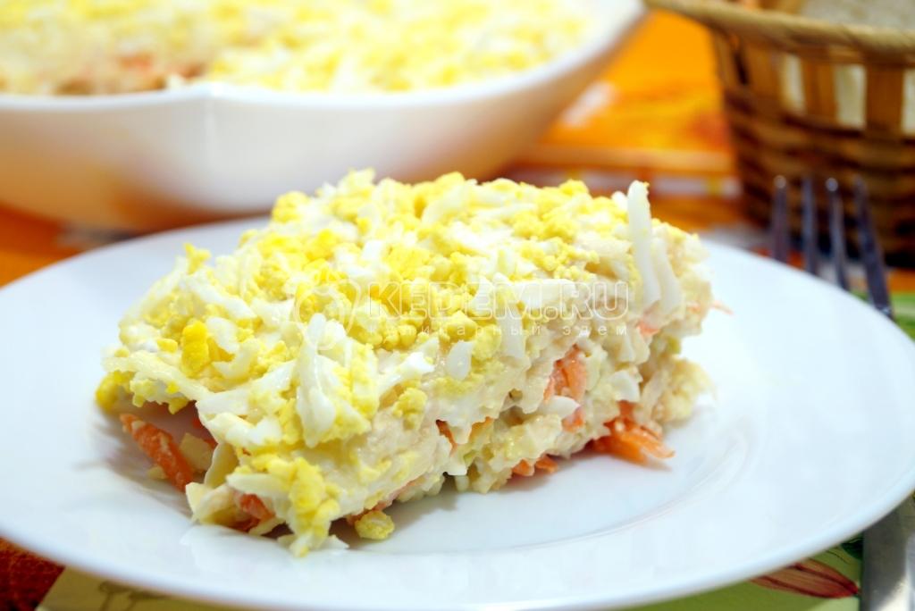 легкие вкусные салатики
