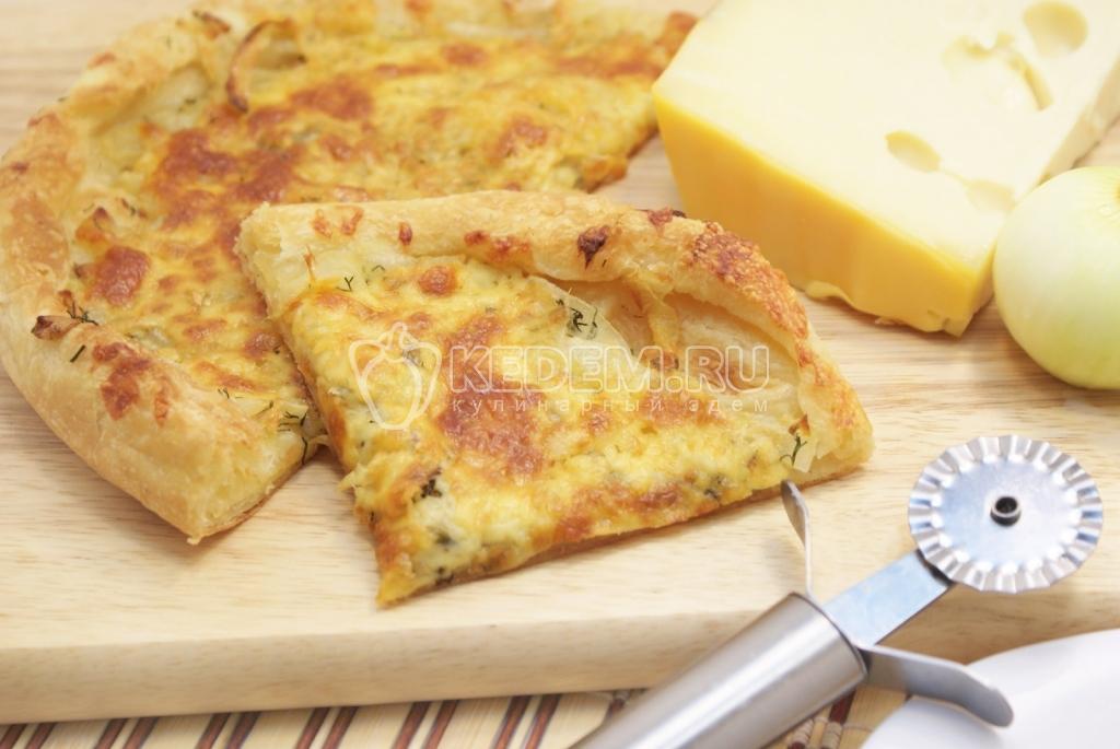 пироги с сыром из слоеного дрожжевого теста рецепт
