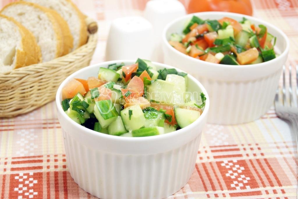 Овощные весенние салаты рецепты с простые и вкусные