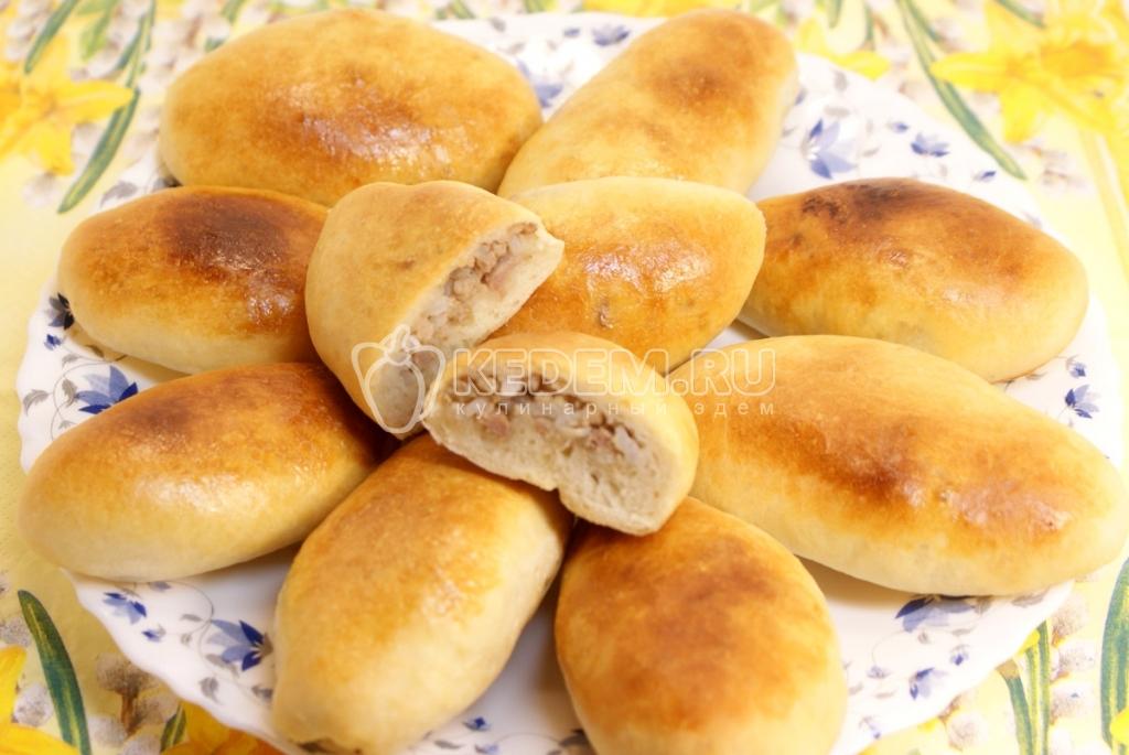 Пирожки с мясом и