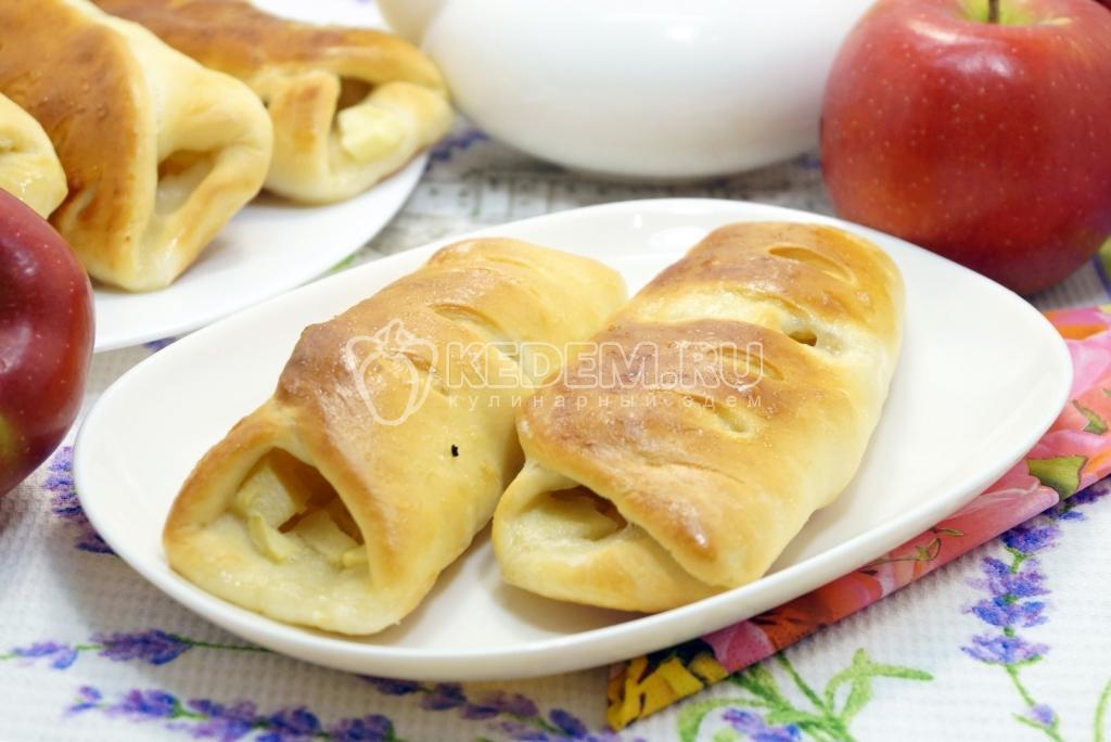 Постные пирожки с яблоками - пошаговый рецепт с фото - как