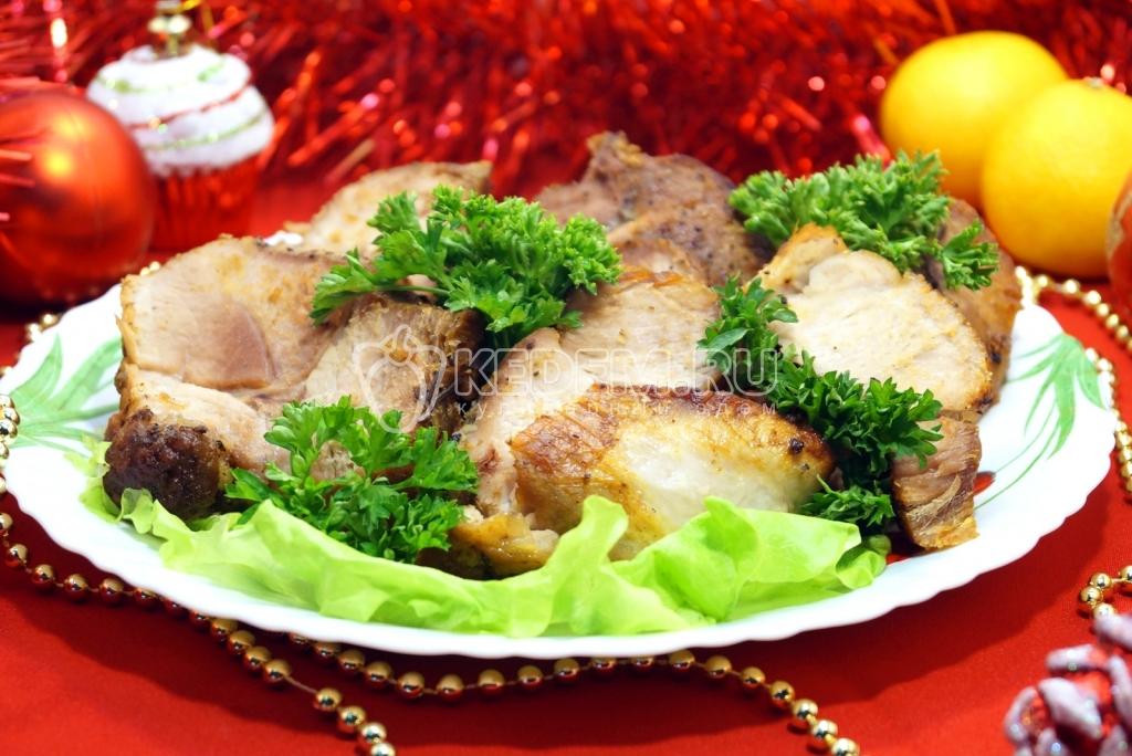 Блюда из мяса Рецепты из мяса Что приготовить из мяса Праздничное мясо