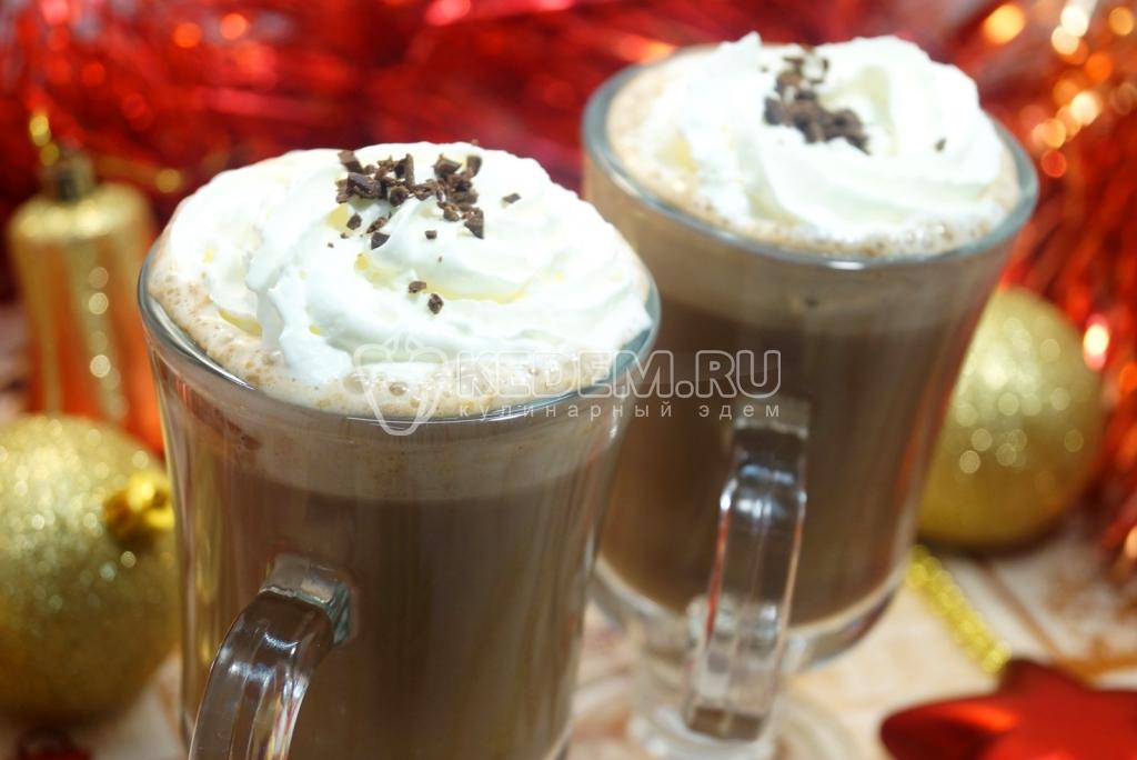 сливки и какао
