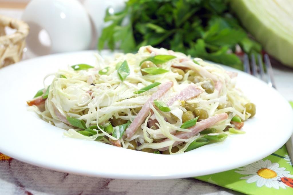 Салат из свежей капустой пошаговый рецепт 34