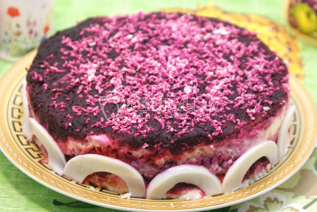 салат из свеклы рецепты с фото