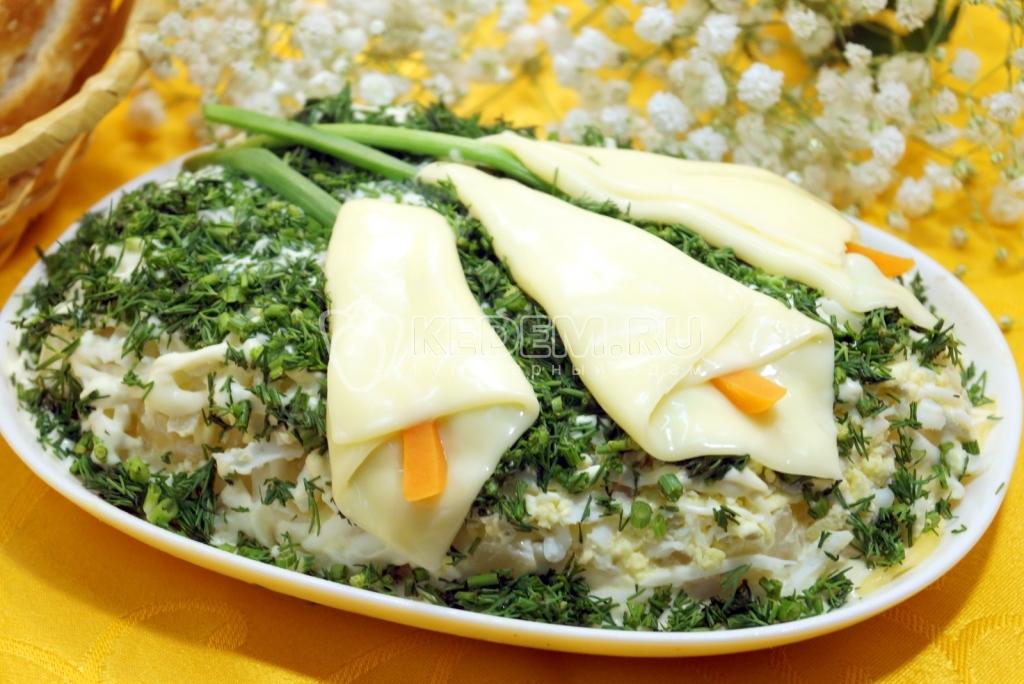 рецепт с фото салат каллы