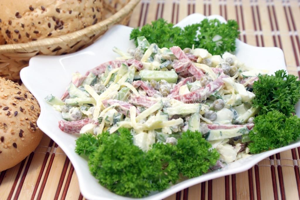 Рецепты простых салатов на скорую руку