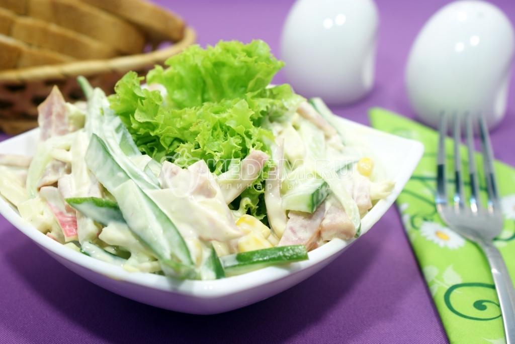 салат неаполь с фасолью рецепт