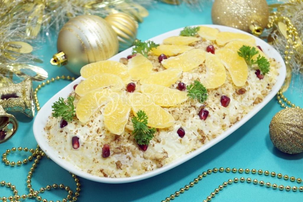 салатов для новый на год гурманов Рецепты