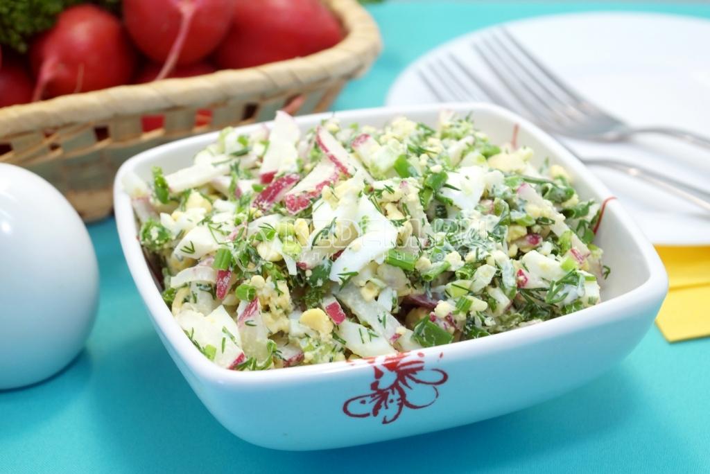 легкие салаты для похудения рецепты с фото