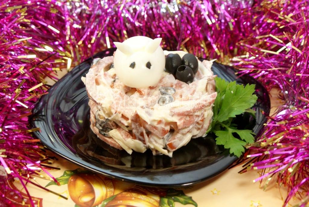 мягкого салат колокольчик рецепт с фото пошагово в магнитофончик