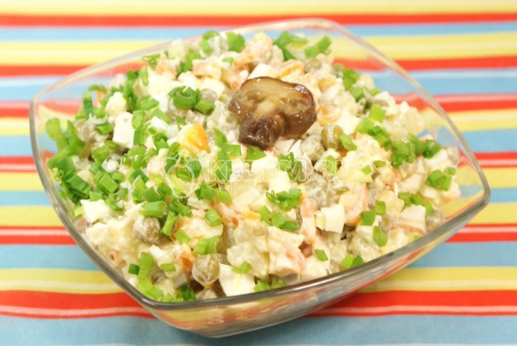 зимнии салат рецепт