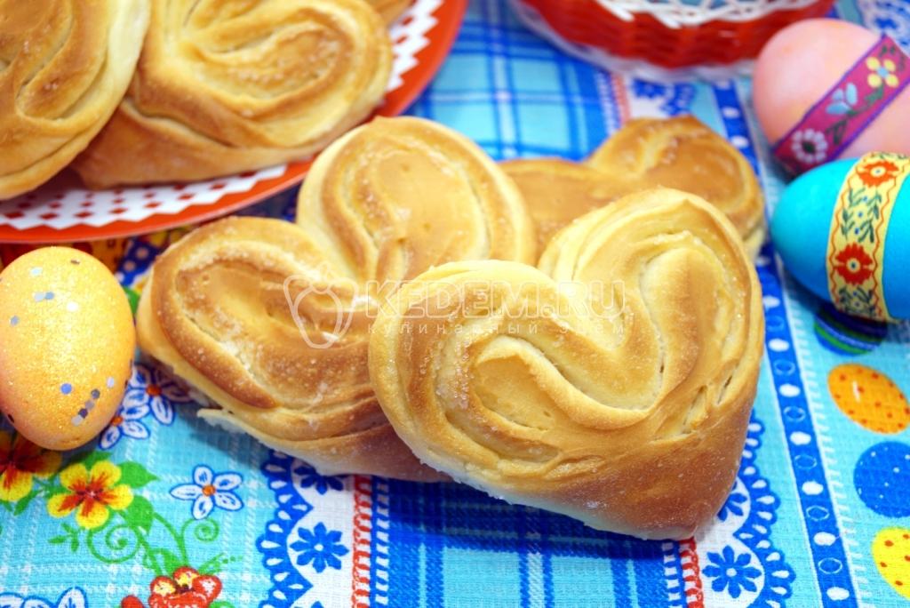 Сдобные булочки рецепт пошаговое