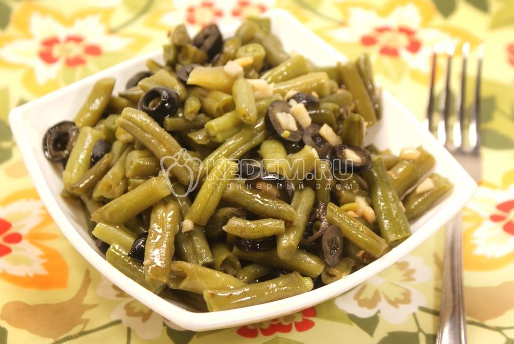 стручковая фасоль с овощами рецепты приготовления с фото