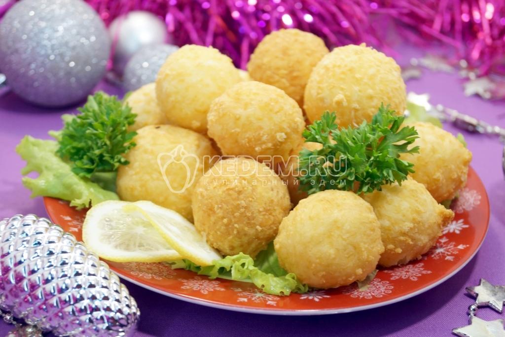 Закуска сырные шарики рецепт пошагово