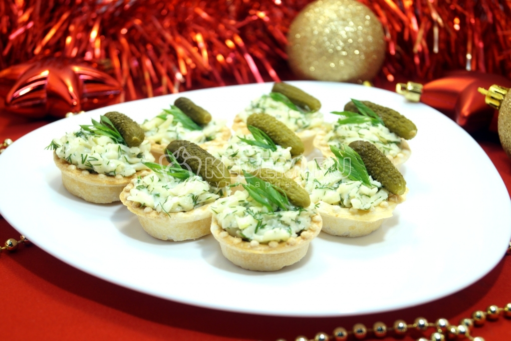 Тарталетки из хлеба рецепт