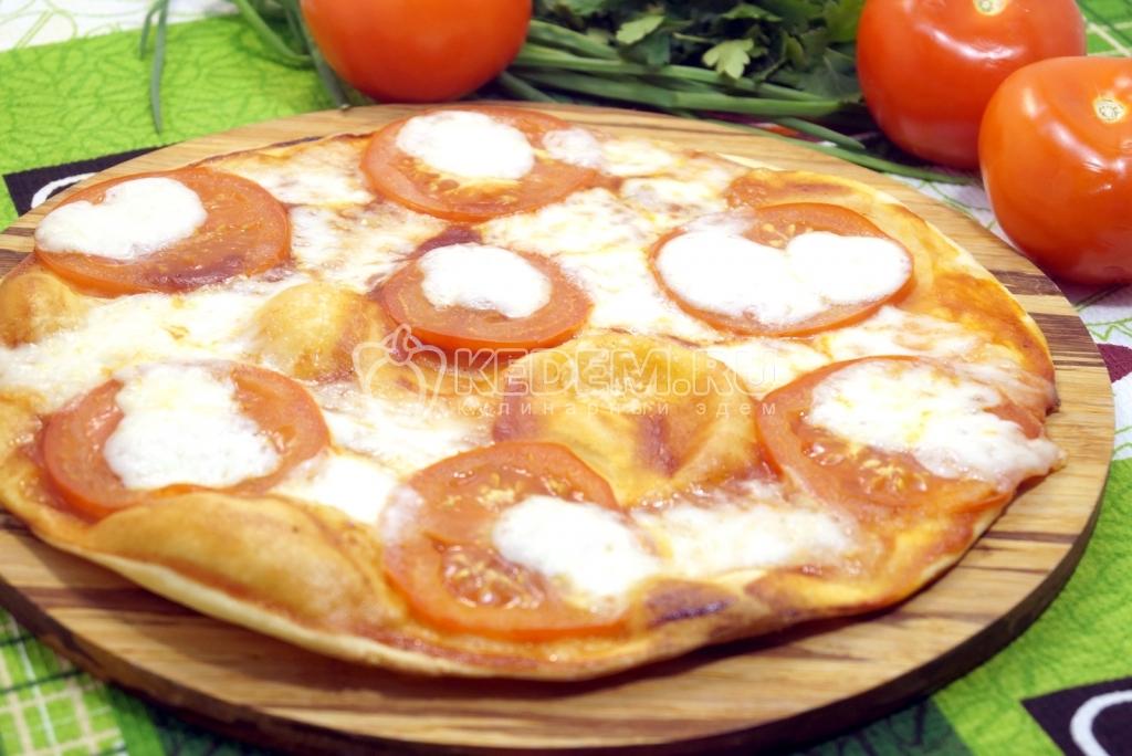 Очень тонкая пицца рецепт