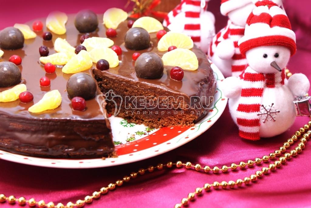 торт на праздник рецепт