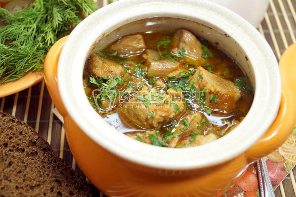 Рецепты блюдо в горшочках