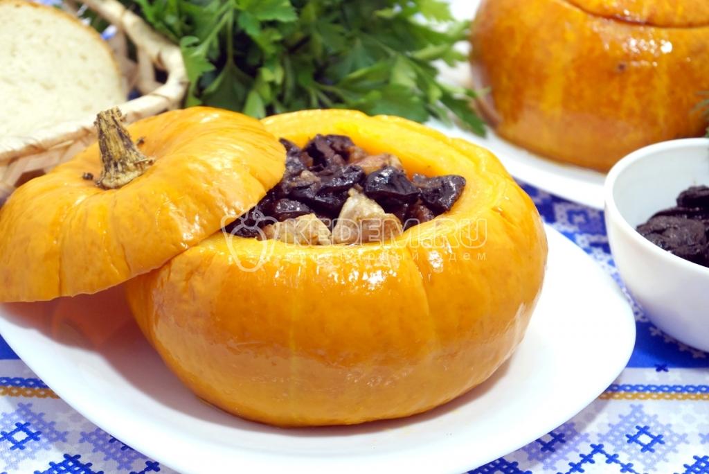 Вторые блюда из тыквы пошагово