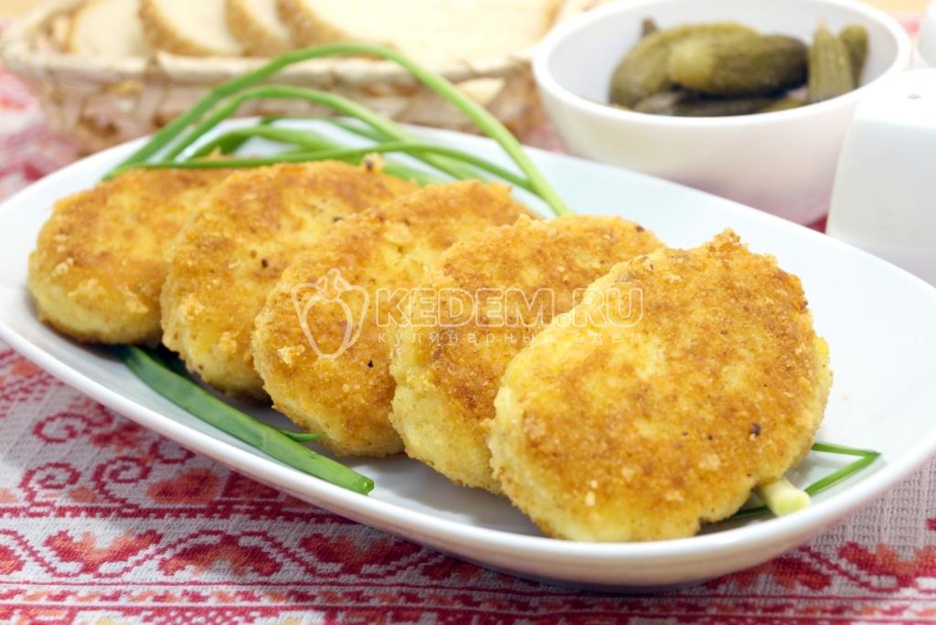 Картофельные котлеты на терке рецепт пошагово