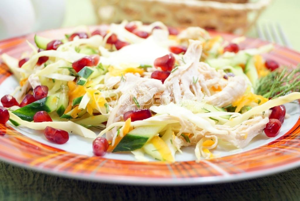 Вкусные салаты из курицы с фото