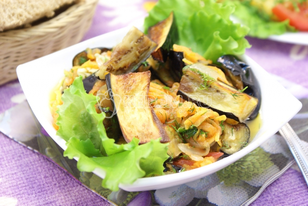 салат любаша рецепт из баклажанов