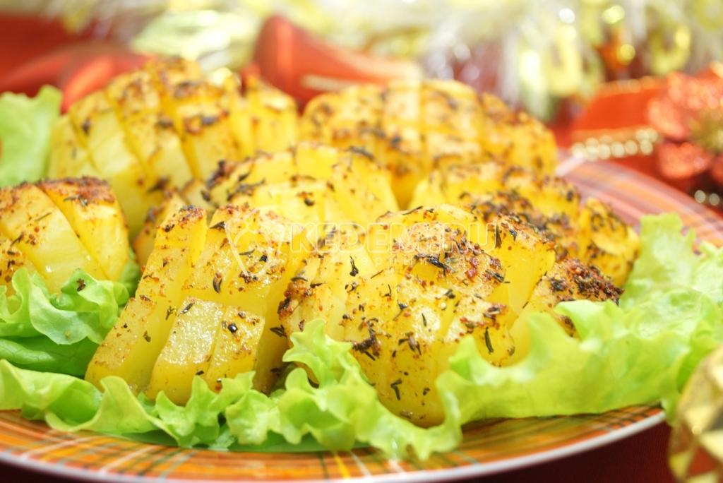 Новогодние рецепты с ананасами