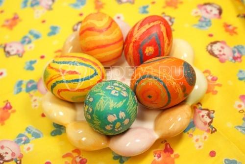 Пасхальные яйца «Буйство фантазии» - рецепт