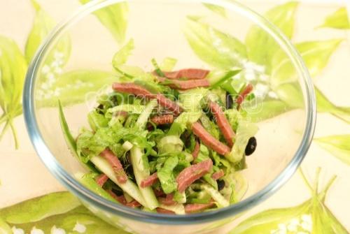 что приготовить из листьев салата рецепты