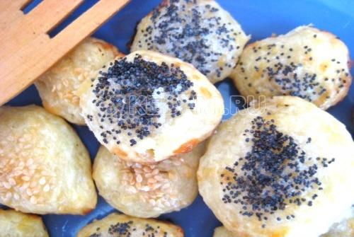 Сырное печенье с перчиком