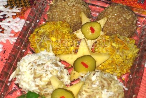 Рецепт Печеночные шарики