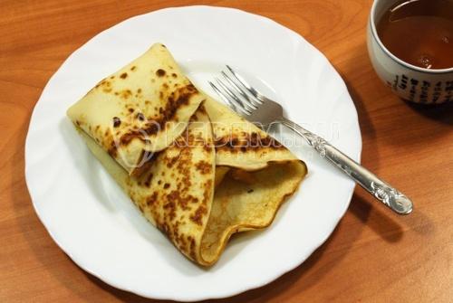Рецепт Блины с апельсинами