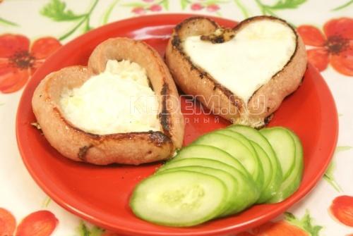 Завтрак для Любимого - рецепт
