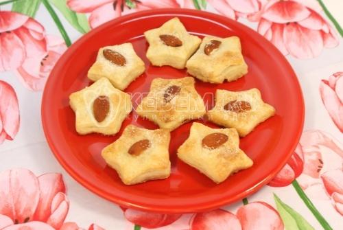 Печенье «Миндальные звездочки» - рецепт