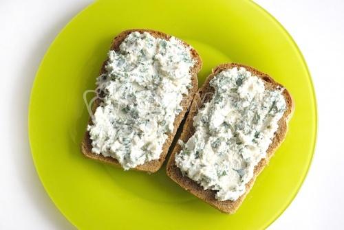 Рецепт Творожная паста с зеленью