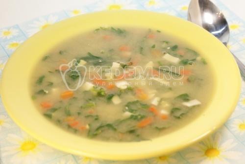 Рецепт Суп с крапивой
